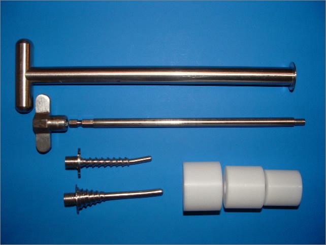 Movilizador y delineador vaginal para histerectomía laparoscópica | Materiales | Unidad de Urología y Endoscopia para la mujer